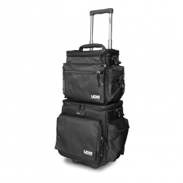 Ultimate SlingBag Trolley DeLuxe Black/Grey Stripe