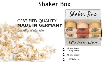 Display Box (18 mini shakers)