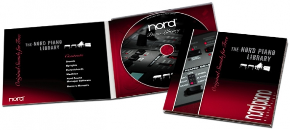 DVD Nord Piano Library